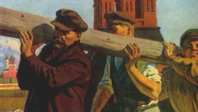 """Lenin – ein """"Schreibtischtäter""""?"""