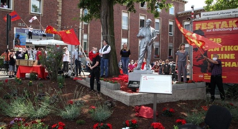 Lenin und die MLPD in der internationalen Presse