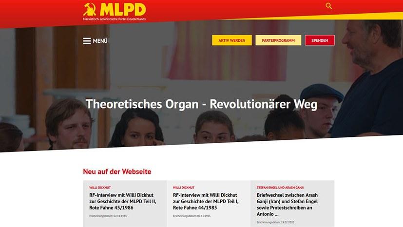 Interviews von Willi Dickhut auf der RW-Homepage