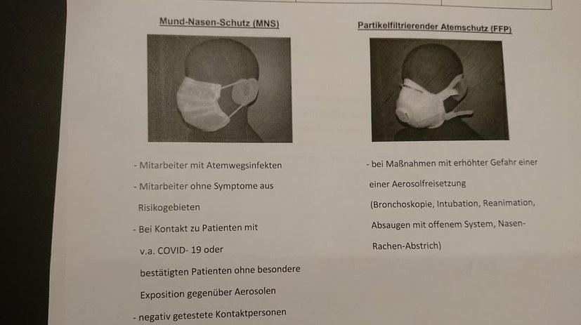 Protest! Krankenhauspersonal soll Corona-Patienten ohne geeignete Schutzmasken behandeln