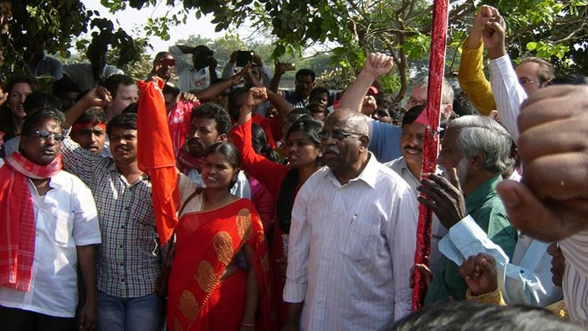 Unser Freund und Gewerkschaftskollege P.K. Murthy ist tot