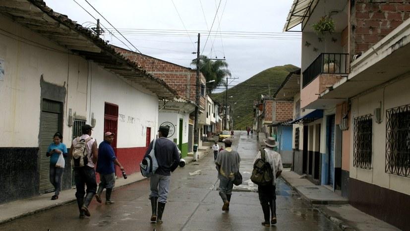Notstandsmaßnahmen gegen Protest in Kolumbien