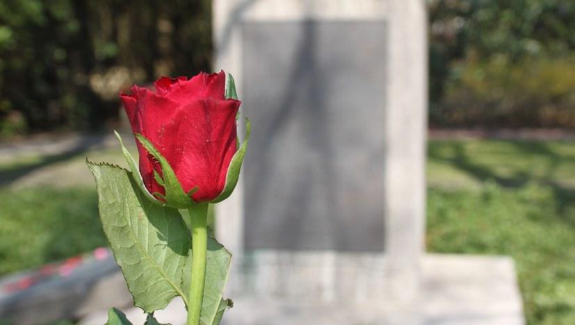 Gedenken auf dem Westfriedhof Bottrop