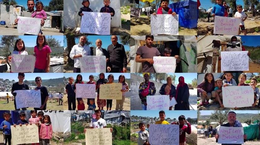 Kinder aus Moria angekommen - Bitte Fotos an SI schicken