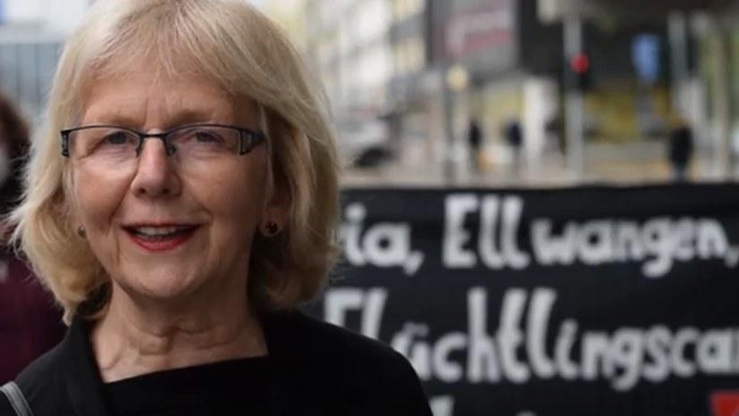 """Bericht und Statement von Monika Gärtner-Engel zum Aktionstag """"Sammellager auflösen - alle evakuieren"""""""