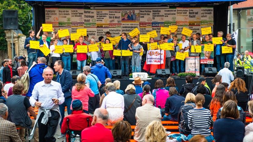 Der 1. Mai, die Versammlungsfreiheit und die Qualen des Bodo Ramelow