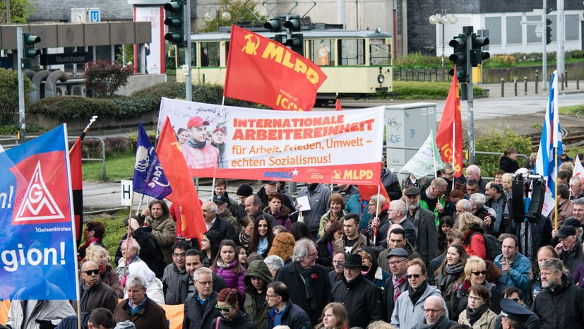 Empörend: Gesundheitsamt verbietet 1. Mai-Kundgebung