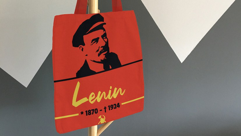 In Vorfreude auf die Lenin-Statue seinen 150. Geburtstag mit schönen Geschenken feiern...