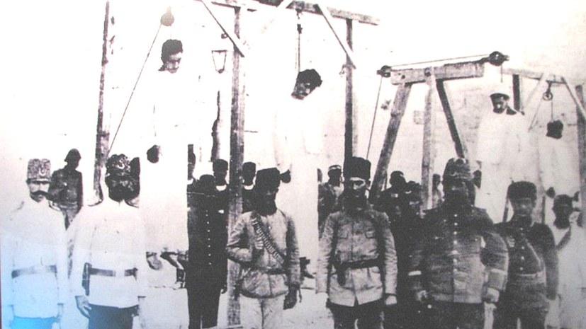 """Wir verurteilen den Völkermord an den Armeniern"""