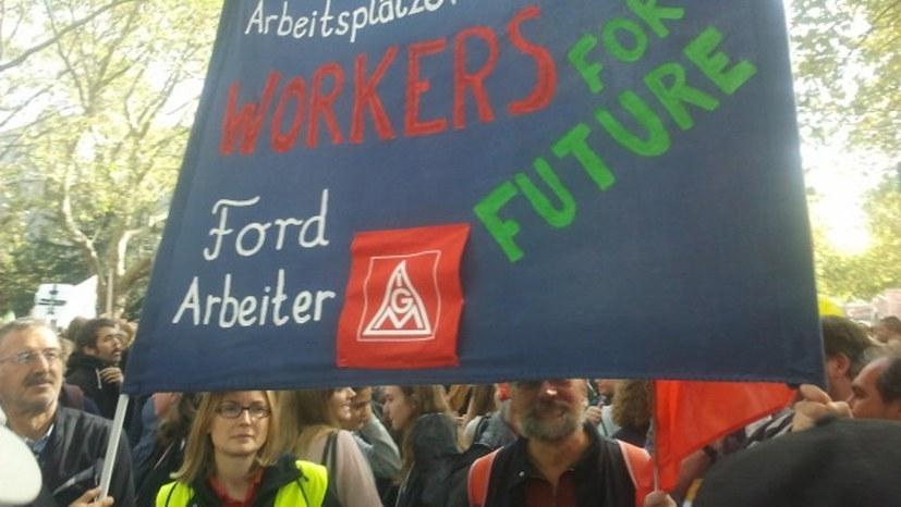 Autokorso abgesagt - Ford-Gewerkschafter trotzdem am 1. Mai aktiv