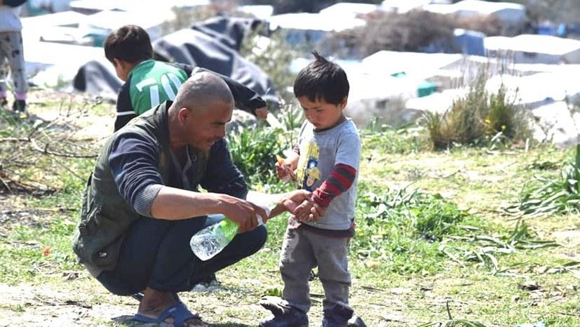 Beeindruckende Demonstration der Solidarität gegen Zustände in Flüchtlingsunterkunft