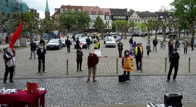 Kundgebung + Autorkorso + WDR