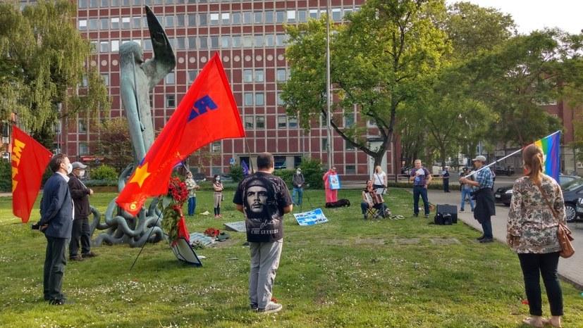 Gedenken an solidarisch-kommunistische Bergarbeiter