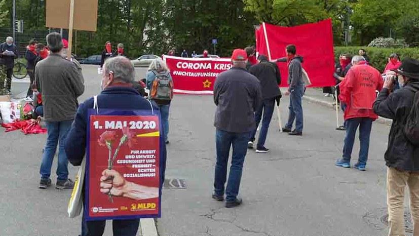 """""""Spaziergang"""" wird zur Demonstration!"""