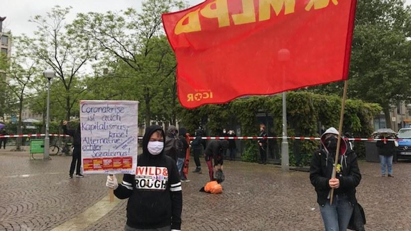 """Wiesbaden: """"Unser Kampf hat schon begonnen"""""""