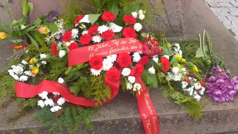 Gedenken zum 8. Mai auch in Zeulenroda