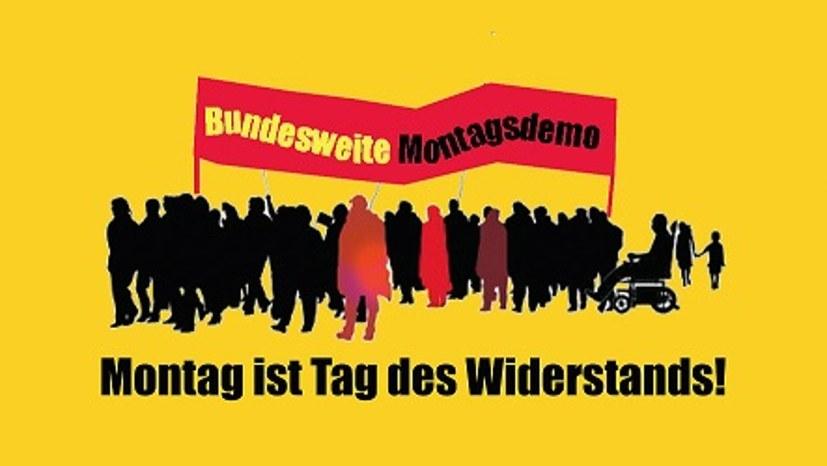 Bundesweiter Aktionstag und 717. Gelsenkirchener Montagsdemo