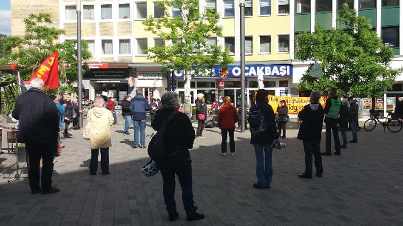 Bundesweiter Protesttag der Montagsdemobewegung am 25. Mai