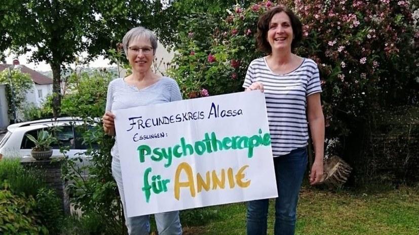 Psychotherapie für Annie T. - sofort!