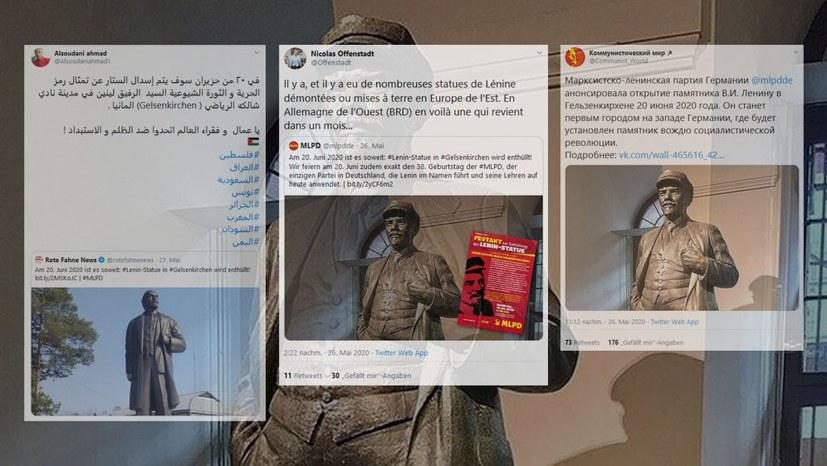 Beliebter Lenin-Tweet