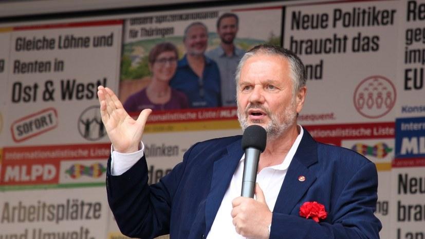 """""""Die staatliche Diffamierung von Stefan Engel als 'Gefährder' muss endlich vom Tisch"""""""