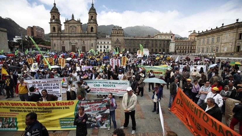 Hungerrevolten und Massenproteste auch in Kolumbien
