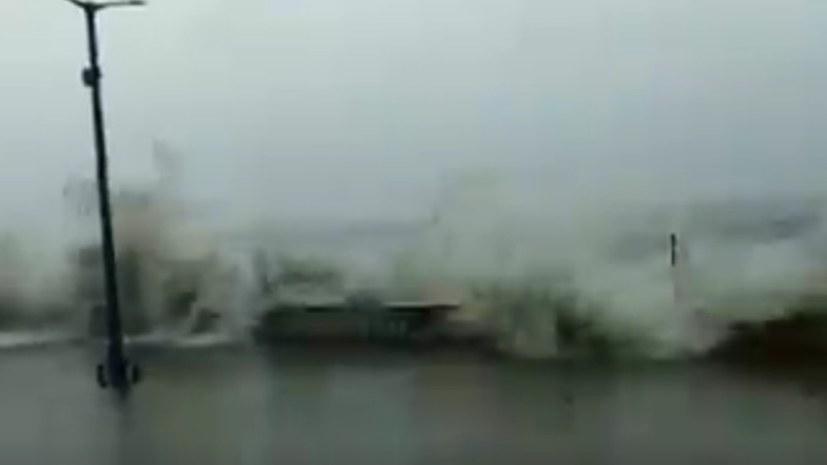 """Zyklon """"Amphan"""" über Indien und Bangladesch"""