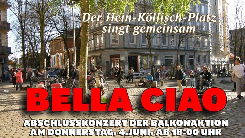 16. Balkonaktion in St. Pauli: Flüchtlinge sind keine Menschen zweiter Klasse