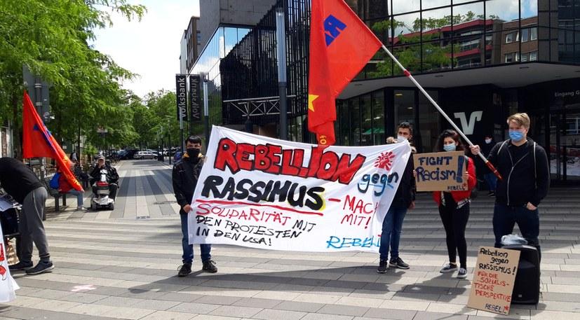 Amerikanische Organisationen grüßen die Solidaritätsaktionen des REBELL