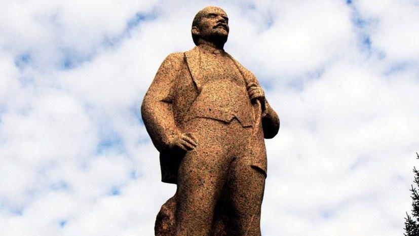Demnächst: Festakt zur Enthüllung der Lenin-Statue