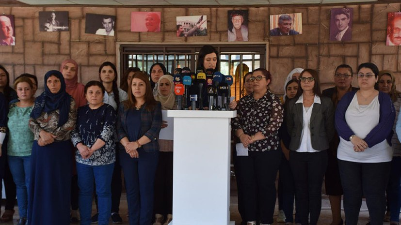 Frauenorganisationen fordern Handeln gegen Besatzung von Efrîn