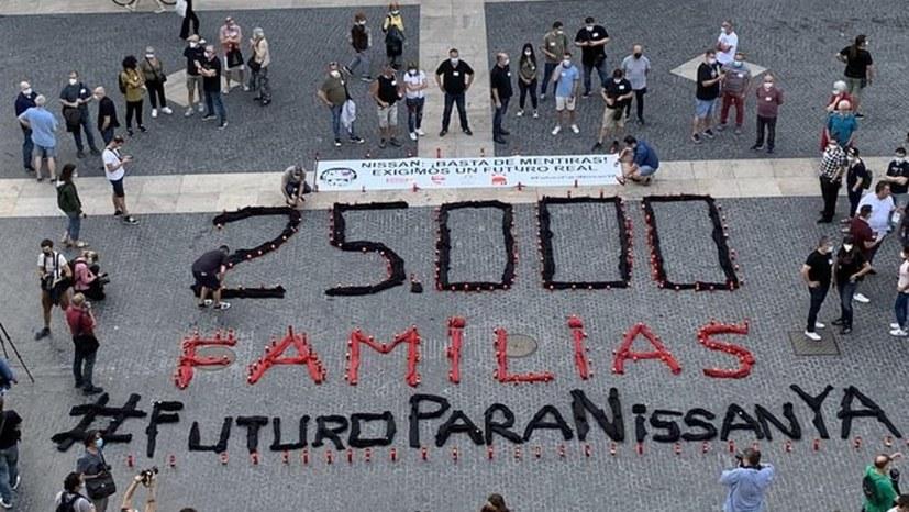 """""""Solidarität für Nissan-Arbeiter"""""""