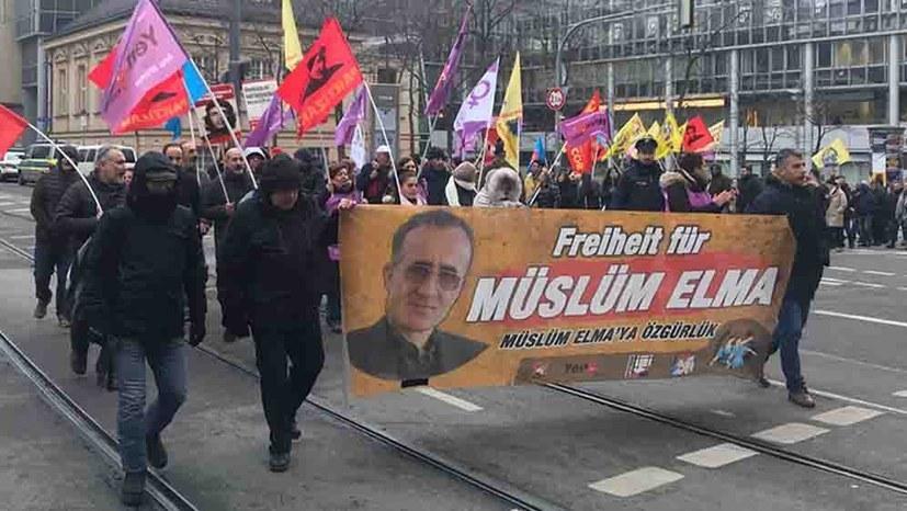"""Beteiligt euch an den bundesweiten Kundgebungen """"Freiheit für Müslüm Elma!"""""""