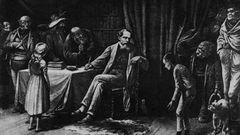 Charles Dickens vor 150 Jahren gestorben