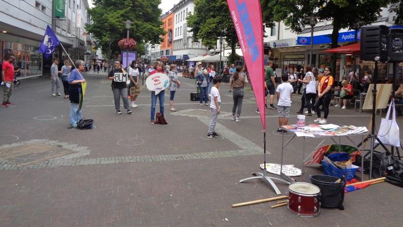"""Jugendverband REBELL: """"Ein deutliches Zeichen gegen Rassismus und Faschismus gesetzt"""""""