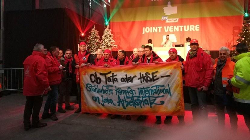 Niederlande: Streik bei Tata Steel Ijmuiden legt die Produktion lahm