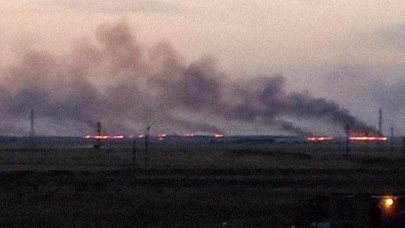 """""""Türkische Besatzungstruppen stecken Felder und Wälder in Efrîn-Şêrawa in Brand"""""""