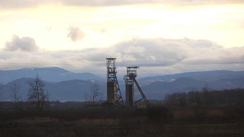 Bergleute aus der Ukraine