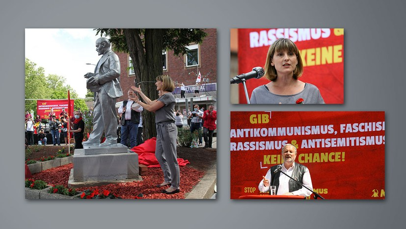 """""""Heute haben wir ein deutliches Signal gegen den Antikommunismus gesetzt!"""" (Jetzt mit Bildreport)"""