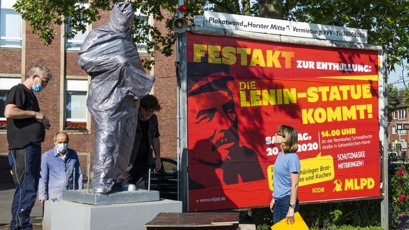 Lenin-Statue: Antikommunistische Störfeuer werden zu Rohrkrepierern