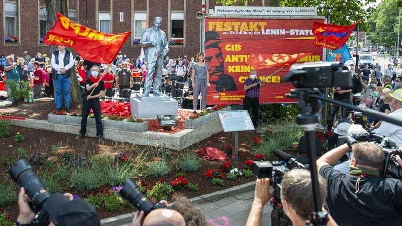 Lenin und die MLPD - ein Topthema in den Medien mit bemerkenswerten Berichten