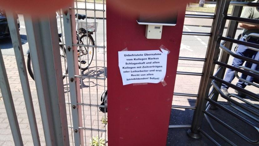 TKSE Duisburg: Jetzt den Streik ausdehnen! Gemeinsam sind wir stark!