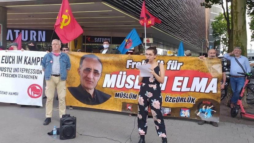 Wichtiges Zeichen der Solidarität mit den zehn Angeklagten in München