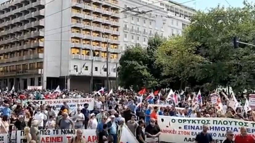 Erfolgreicher Protesttag der LARKO-Arbeiter