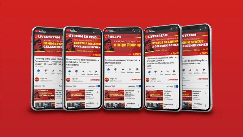 Livestream vom Festakt jetzt in fünf Sprachen