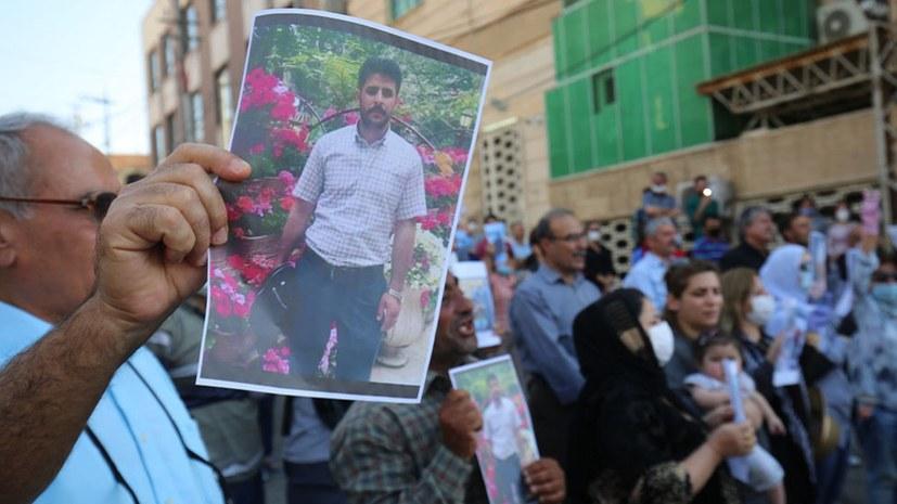 Protest in Silêmanî gegen Massaker in Kuna Masî