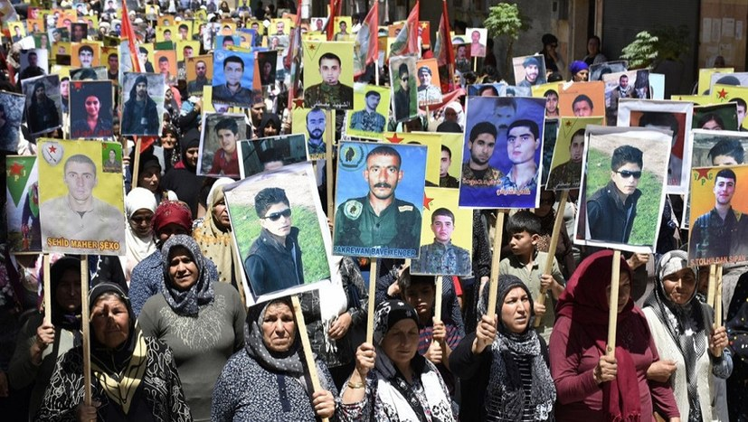 Tausende protestieren in Rojava gegen türkische Angriffe