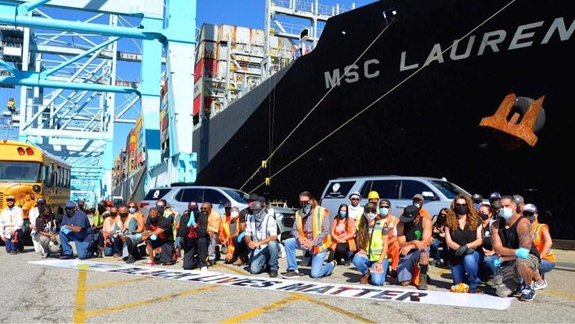 US-Hafenarbeiter streiken gegen Rassismus