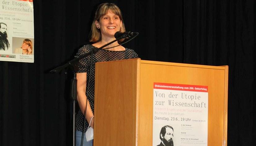 Wenn Kommunisten den Kommunisten Friedrich Engels ehren ...
