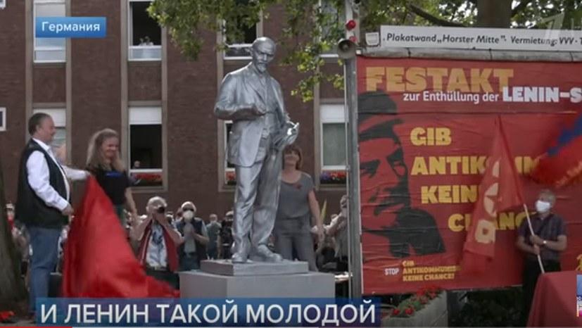 Bericht des Ersten Russischen Fernsehens über die festliche Enthüllung